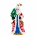 Christopher Radko Genteel Mr. Claus Ornament