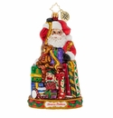 Christopher Radko Santa Claus Gift Wrapping Extraordinaire! Ornament