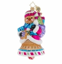 Christopher Radko Ginger Sweet Bells Ornament