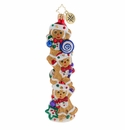 Christopher Radko Gingerbread Balancing Act Ornament