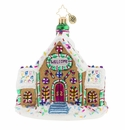 Christopher Radko Gingerbread Dream Home Ornament