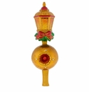 Christopher Radko Golden Lantern Finial Tree Topper