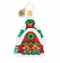 Christopher Radko Goodnight Donner, Goodnight Blitzen! Gem Ornament