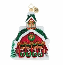 Christopher Radko Goodnight Donner Goodnight Blitzen! Reindeer Barn Ornament