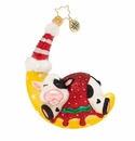 Christopher Radko Goodnight Moon Cow Ornament