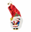 Christopher Radko Hats Off To Christmas Ornament