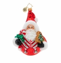 Christopher Radko Holiday Sphere Cheer Ornament