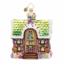 Christopher Radko Home For The Holidays! Gingerbread House Ornament
