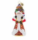 Christopher Radko It Ain't Heavy Ornament - Santa with Gifts