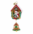 Christopher Radko It's Christmas Chime Ornament