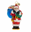Christopher Radko Knick Knack Nick Ornament