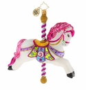 Christopher Radko Leader Of The Merry-Go-Round! Carousel Horse Ornament