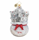 Christopher Radko Lustrous Bag of Goodies Ornament