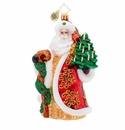 Christopher Radko Magnificent Santa Ornament