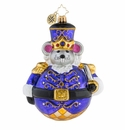 Christopher Radko Man Or Mouse, Nutcracker? Gem Ornament