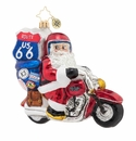 Christopher Radko Motorcycle Nick! Ornament