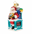 Christopher Radko MTA Santa�s NY Travels! Ornament