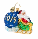 Christopher Radko No Looking Back Gem Ornament