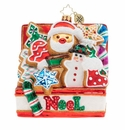 Christopher Radko Noel Cookies Better Ornament