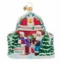 Christopher Radko North Pole Tree Farm Gem Ornament