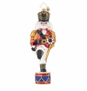 Christopher Radko Parading Nutcracker Ornament