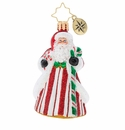 Christopher Radko Peppermint Candy Kringle Gem Ornament