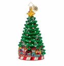 Christopher Radko Peppermint Panache Christmas Tree Ornament