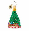 Christopher Radko Peppermint Panache Gem Christmas Tree Ornament