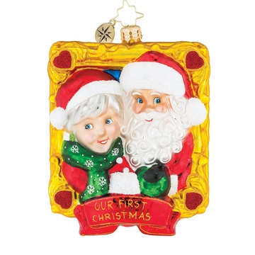 Christopher Radko Picture Perfect Couples Our First Christmas Ornament