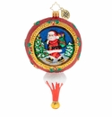 Christopher Radko Picturesque Santa Ornament