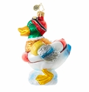 Christopher Radko Quack Attack! Duck Ornament