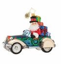 Christopher Radko Retro Roadster Ornament