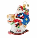 Christopher Radko Rockin' Around 2019 Ornament