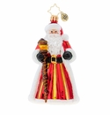 Christopher Radko Ruby Royalty Santa Ornament