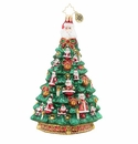 Christopher Radko Santa Christmas Tree Ornament