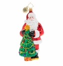 Christopher Radko Santa's Balsam Fir Tree Ornament