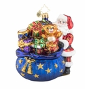 Christopher Radko Santa's Christmas Surprise Ornament