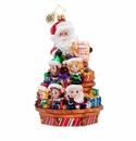 Christopher Radko Santa's Crew! Ornament