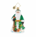 Christopher Radko Santa's Furry Friends Little Gem Ornament