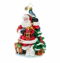 Christopher Radko Santa's Menagerie of Friends Ornament