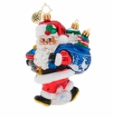 Christopher Radko Santa's Shiny Brite Collection! Ornament
