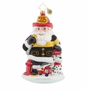 Christopher Radko Santa to the Rescue Ornament