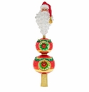 Christopher Radko Santa Topper Finial Tree Topper