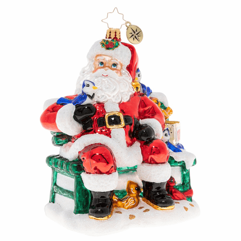 Christopher Radko Santas Happy Place Ornament