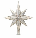 Christopher Radko Silver Stellar Tree Topper
