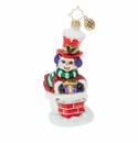 Christopher Radko Snowman Gift Delivery! Ornament