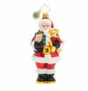 Christopher Radko Special Surprise Santa Ornament