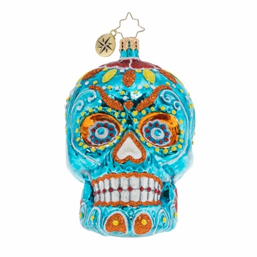 Christopher Radko Spooky La Calavera Ornament