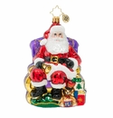 Christopher Radko St. Nick Christmas Visit Ornament