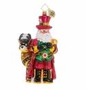 Christopher Radko Steampunk Santa! Ornament